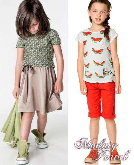 Детские модные модели для девочек имеют роскошное и привлекательное оформление, для которого использовались такие декоративные элементы, как вышивка