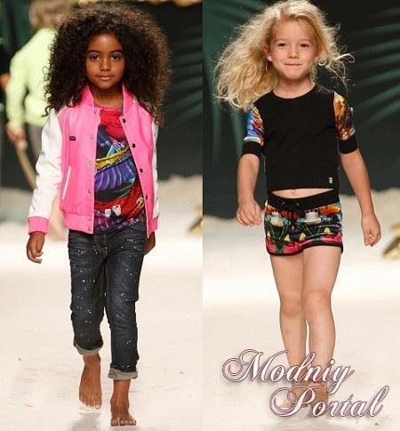 Детская мода для девочек лето 2015 фото