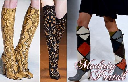 Модная обувь осень зима 2014 2015 мода