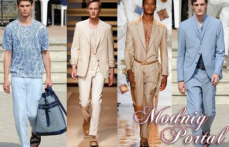 Тенденции мужской моды весна лето 2015