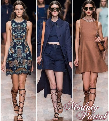 Модные летние платья 2015 - повседневные, нарядные, для