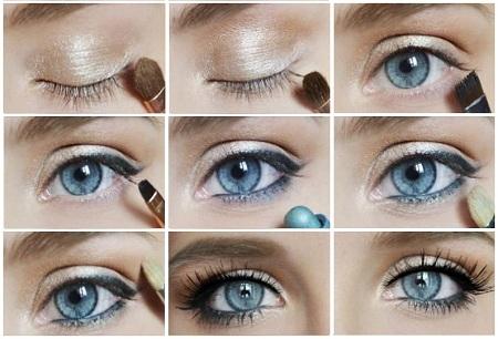 Красивый макияж 9